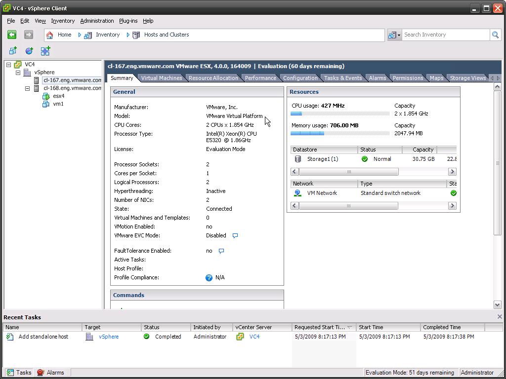 vmware esx 4 can even virtualize itself | vcritical