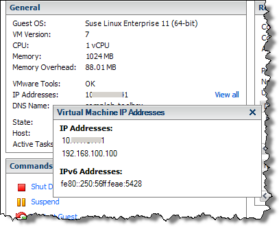 Easily view guest IP addresses with vSphere Client | VCritical